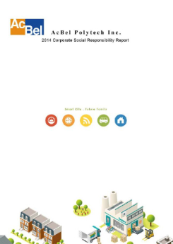 2014 AcBel CSR report
